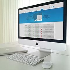 طراحی سایت پیشرو پیام