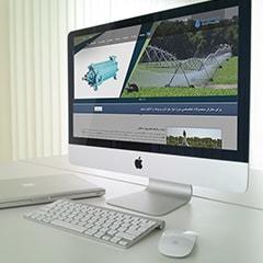 طراحی سایت شرکت آب افشان
