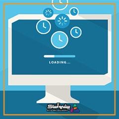 اینفوگرافیک زمان بارگذاری وب سایت