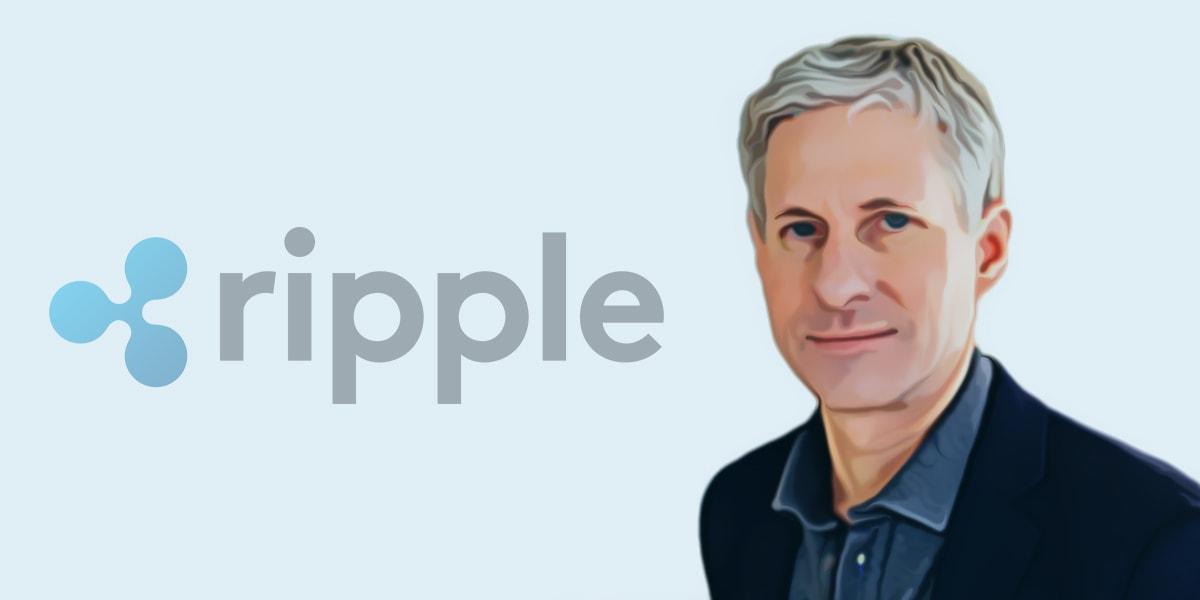 کریس لارسن هم بنیانگذار و مدیر اجرایی ریپل